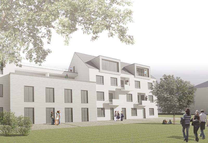 Realisierung: 2015/2016. Errichtung Eines Wohngebäudes Mit 44 überwiegend  Seniorengerechten Wohnungen In Ludwigsfelde
